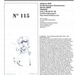 Fanzine 442e Rue
