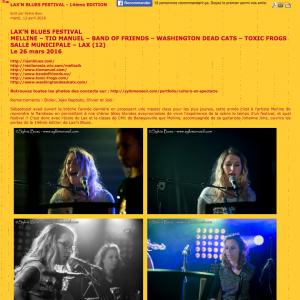 Lax'n Blues Festival – Zicazic.com
