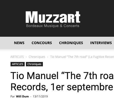 Muzzart – 13/11/2019
