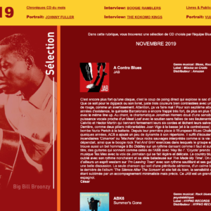 Blues Again – novembre 2019