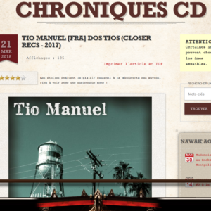 Nawakculture – Chronique CD